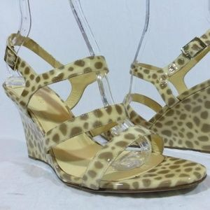 NEW Kate Spade Cindy Patent Leather Leopard Print
